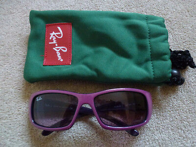 RAY-BAN Girls RJ9046-S 147/90 Sunglasses In Purple Age 7/8