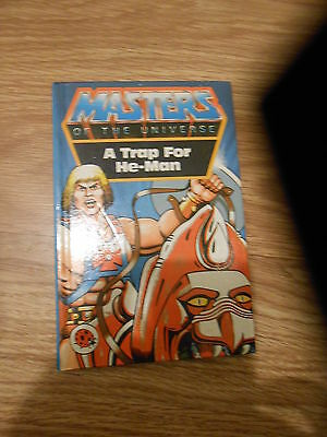 Masters Of The Universe - A Trap For He-Man (Hardback Ladybird Story Book)(Vg)
