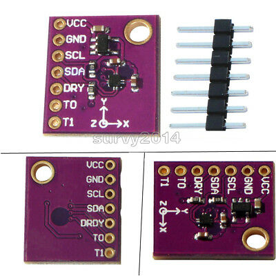 3-Axis Compass Magnetic Sensor Module 0.15μT / LSB Replace HMC5883L for Arduino