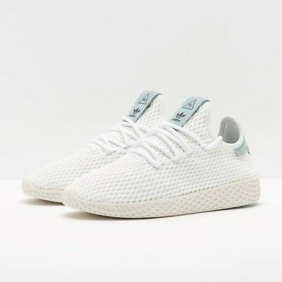 Youth (GS) Adidas Pharrell Williams Tennis HU Running White/Tactile Green CP8878