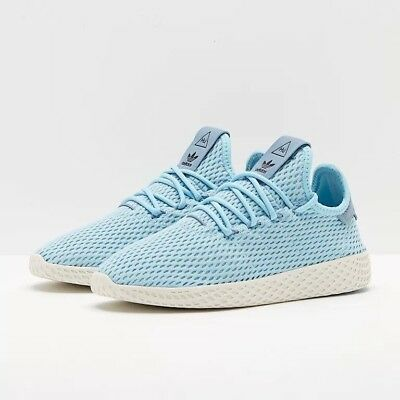 Youth (GS) Adidas Pharrell Williams Tennis HU Icey Blue CP9802
