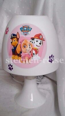 Tischlampe Nachttischlampe Paw Patrol *auch LED*  Lampe Stehlampe Hunde Name