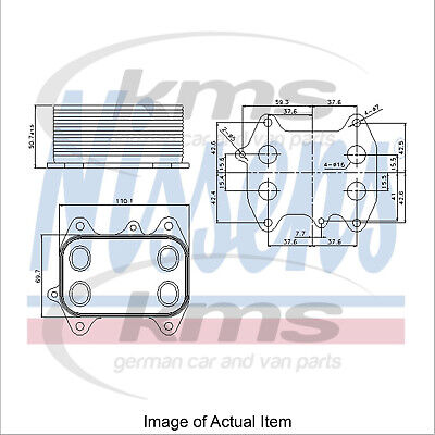New Genuine NISSENS Engine Oil Cooler 90681 Top Quality