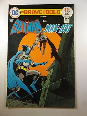 Brave and the Bold #119 Batman and The Man-Bat!! Beautiful VF- Condition!!