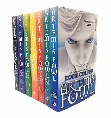 Eoin Colfer Artemis Fowl Collection 8 Books Set Collection