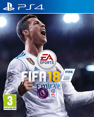 Fifa 18 (Ps4)   Brand New And Sealed - Quick Dispatch