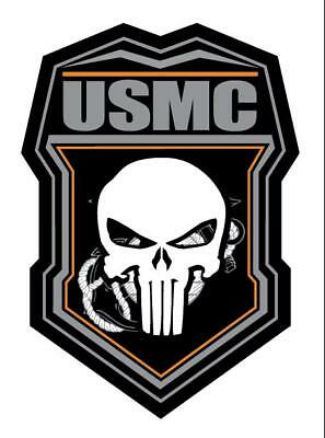 USMC PUNISHER CALL OF DUTY TYPE Decals Stickers Marines