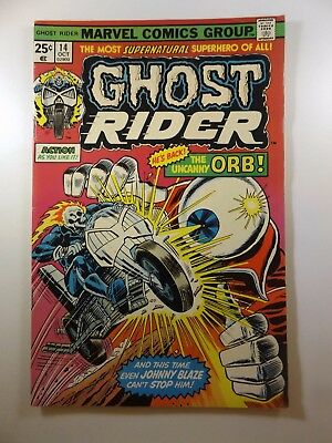 The Ghost Rider #14 vs The Uncanny Orb!! Sharp Fine- Condition!!