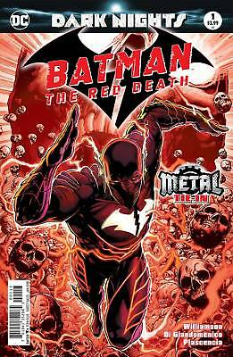 Batman The Red Death #1 Metal 3Rd Printing - Dc - Release Date 13/12/17