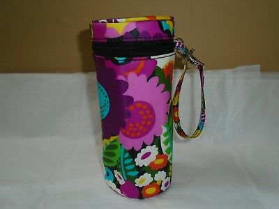 NWT Vera Bradley Thermal Insulated Bag Can Cooler Baby Bottle Caddy Holder