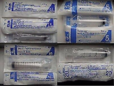 TERUMO Hypodermic Sterile SEALED Syringe  5ml x5