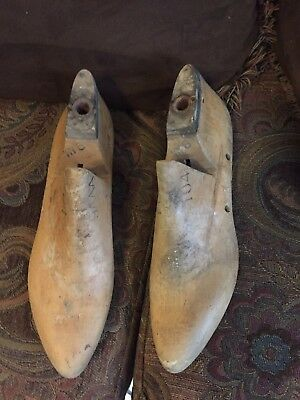 Vintage Antique Sterling shoe lasts shoe forms cobbler tool size 9AAA flats