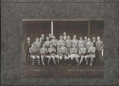 Oldham Rugby Union Football Club Team Group Circa 1900
