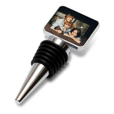 Personalised Bottle Stopper, Personalised Wine Saver, Any Picture, Name or Text