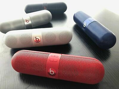 Beats Pill 2.0 by Dr. Dre Bluetooth Portable Wireless Speaker White Black Red