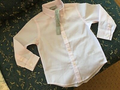 Next Pink Boy's Formal Shirt 18-24 Months