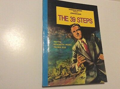 Very Rare THE 39 STEPS 1959 Keneth More  Film Book