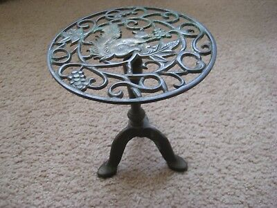 Vintage - Antique Brass Ornate Stand