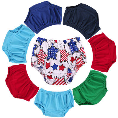 Toddler Baby Boy Girl Bloomer Diaper Nappy Cover Cotton Shorts Bottoms PP Pants