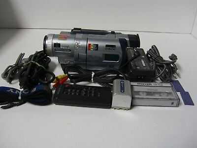 SONY DCR-TRV830 Digital8 Camcorder. Plays Hi8 and Video8 Tapes, 60 DAY WARRANTY!