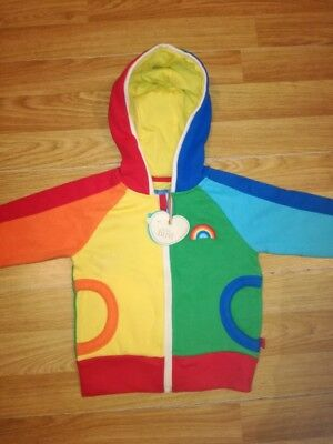 mothercare little bird hoodie baby 9_12months NEW