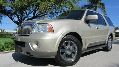2004 Lincoln Navigator 4Dr 2004 LINCOLN NAVIGATOR, TV/DVD/CD/NAV, HEAT/AC LEATHER, 3rd ROW, SUNROOF, XENON