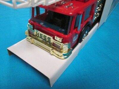 1986 Hess Fire Truck NIB with Gold Grill