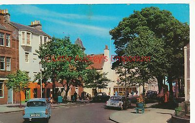Postcard Quality Street North Berwick Classic Ford Anglia Vintage Posted AI416