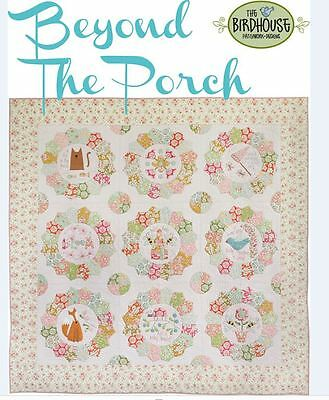 Beyond The Porch Quilt Pattern by Natalie Bird featuring Bumblebee Collection