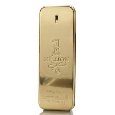 Paco Rabanne 1 Million Men's Cologne 3.3 / 3.4 oz / 100 ml EDT Spray Unbox