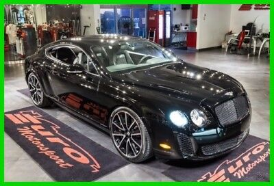 2010 Bentley Continental GT SUPERSPORTS W+REAR SEATING RARE ONLY $900 PER MO. BLACK OVER BLACK SUEDE HIDES WITH FULL SEATING VERY RARE OVER $273K NEW!!!