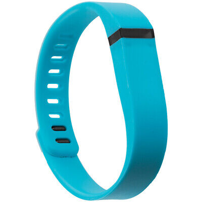 For Fitbit Flex Band Replacement Wrist Bands Wristband Large Baby Blue w/ Clasps