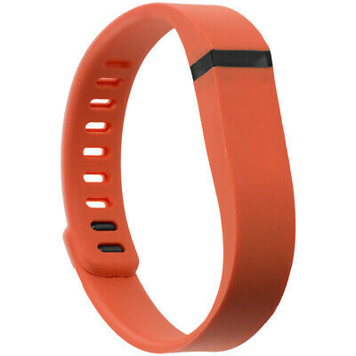 For Fitbit Flex Band Replacement Wrist Bands Wristband Large Orange w/ Clasps