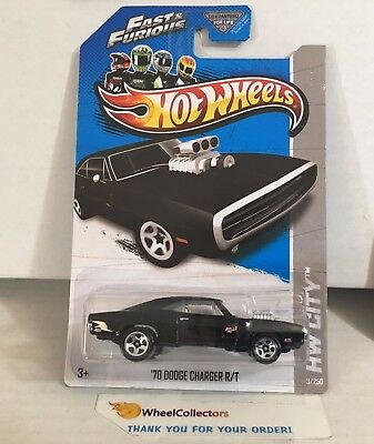 '70 Dodge Charger R/T #3 * Fast & Furious * 2013 Hot Wheels * WB28