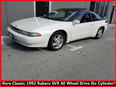 1992 Subaru SVX  RARE COLLECTIBLE 1992 SUBARU SVX ALL WHEEL DRIVE COUPE!  2-OWNER CALIF. CLASSIC!