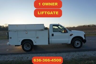 2008 Ford F-350 Powerstroke diesel work mechanics liftgate Used 1 owner auto