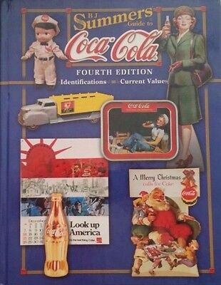 COCA-COLA PRICE GUIDE COLLECTOR'S BOOK SIGN GLASS PORCELAIN  295 Pages