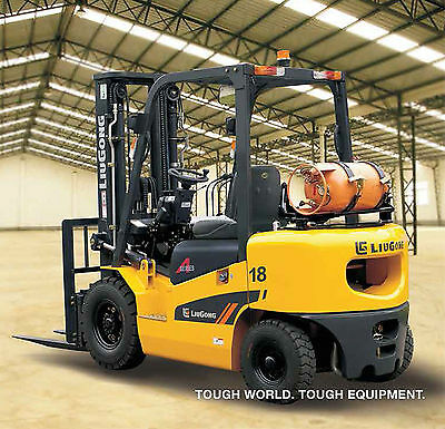 NEW 1.8t Container LPG QUALITY Forklifts 1.8t - Nissan Engine!