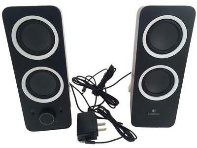 Logitech Recertified 980-000800 Multimedia Speakers Z200 with Stereo Sound for M