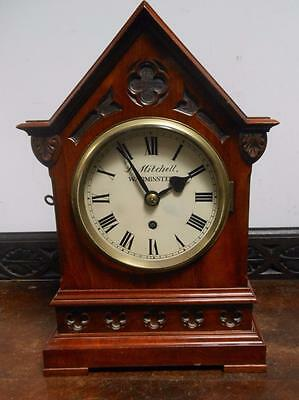 gothic fusee bracket clock ---warminster
