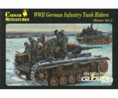 Caesar Miniatures H079 WWII German Infantry Tank Riders in 1:72