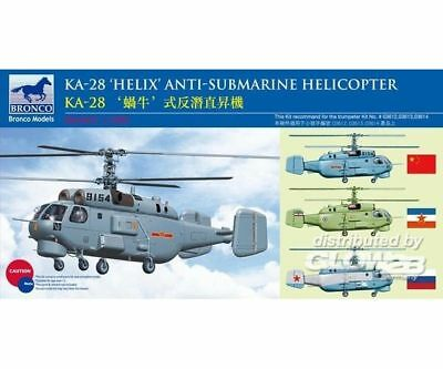 Bronco Models BB2003 Kamov KA-28 HELIX Anti-Submarine Helicop in 1:200