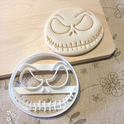 The Nightmare Before Christmas Jack Skellington Cookie Cutter - Cup Cake Topper