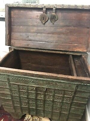 Antique Rajasthan Marriage Dowry Chest  18th/ 19C