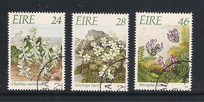 Ireland Eire used stamps - 1988 Endangered Flora, used