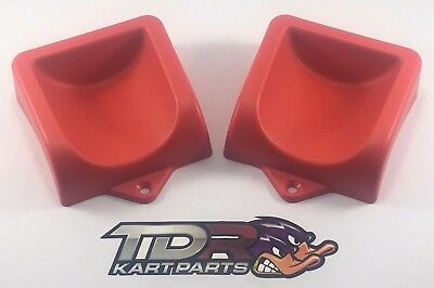 Go Kart - Heel Supports - Red