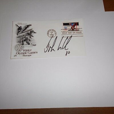 John LeClair is a retired American NHL hockey player Hand Signed FDC
