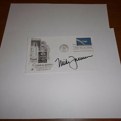 Michael Foreman is a retired U.S. Navy pilot + a NASA astronaut Hand Signed FDC