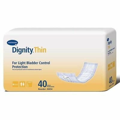 Dignity Lites Stackable Thin Pads ''12L, 40 Count'' *BRAND NEW* FREE SHIPPING!!