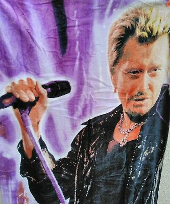 Johnny hallyday (serviette de plage)